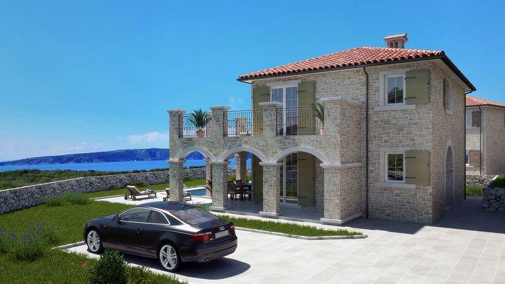 Steinvilla   Haus in Kroatien kaufen - Insel Krk