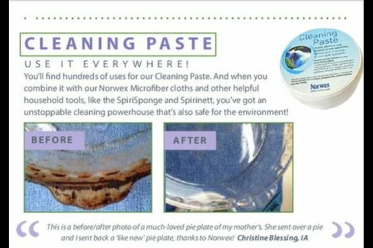 how to clean theral paste