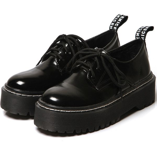 Black Round Toe Lace Up Velvet Shoes (669.900 VND) ❤ liked on Polyvore featuring shoes, boots, black, lace up shoes, black lace up flats, black flat shoes, kohl shoes and flat shoes