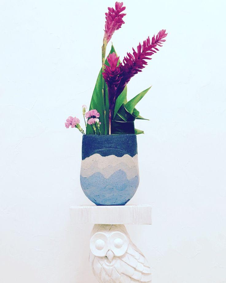 Happy New Year! Handmade 'Umi' with New Year ikebana