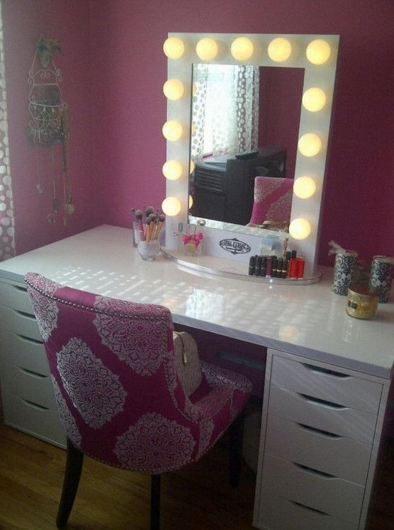 1000 ideas about cheap vanity table on pinterest living for Cheap vanity desk