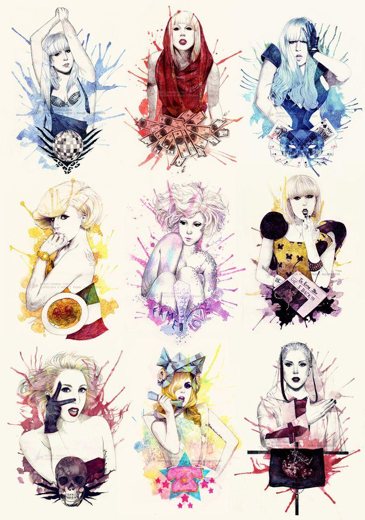 The Fame - Monster by mibou.deviantart.com on @deviantART