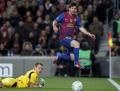 Lionel Messi at his breathtaking best tore Bayer Leverkusen apart with a record five-goal Champions League haul on Wednesday as Barcelona swept into the quarter-finals 7-1