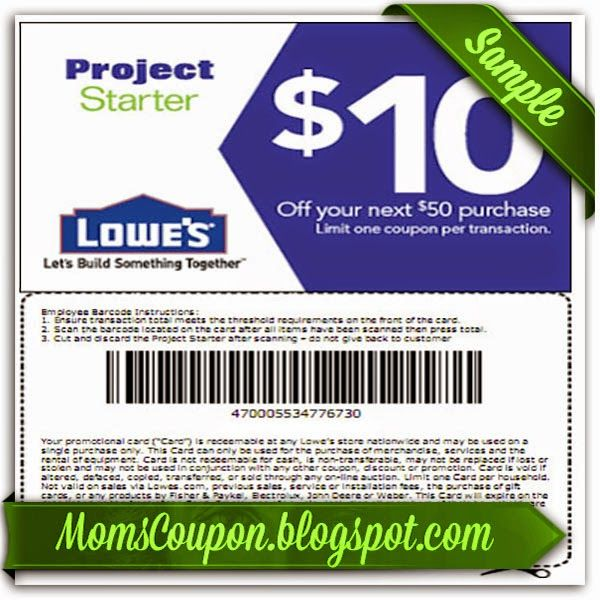 Lowes promotional coupon codes