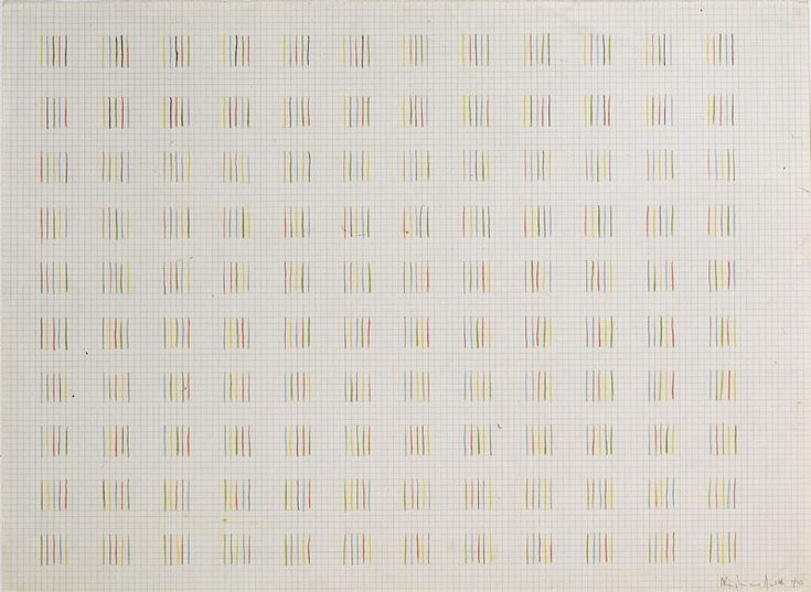 Alighiero Boetti, Permutations, 1970
