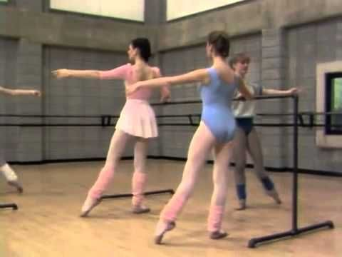 Vintage ballet classic. good pre barre stretching, basic barre and centre work (youtube)