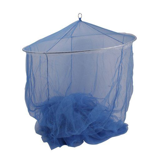 Blue Round Lace Mosquito Bed Canopies Netting by Crazy Cart. $6.99. Features: 1. This is an attractive new round bed   canopy 2. Both beautiful and functional, the bed canopy will bring you high   quality life 3. This bed canopy is perfect for keeping all the terrible and   annoying flying bugs / mosquitoes / insects out at night 4. It also gives you   a wonderful new look to your bedroom 5. This net can be used outdoors as a   dramatic way to protect from flying insects   to...