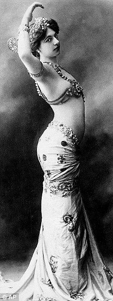Mata Hari: The Dutch exotic dancer was executed by France in 1917 for spying on Germany