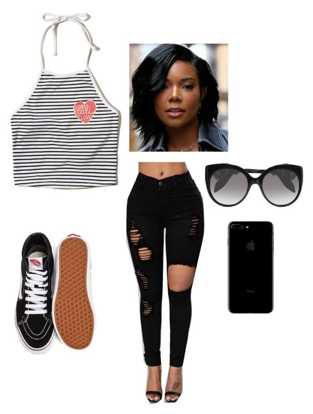 From Cali w/ love by yesirenteria on Polyvore featuring polyvore fashion style Hollister Co. Vans Alexander McQueen clothing