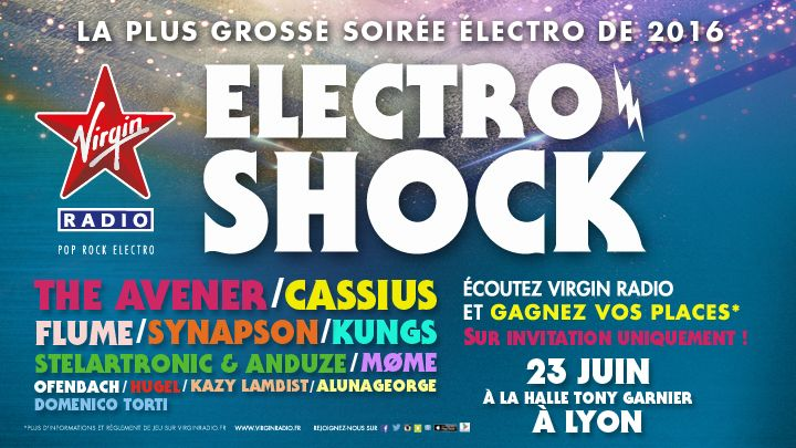 Electroshock à Lyon le 23 Juin 2016