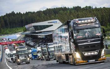 Truck Race Trophy, Truckercamp, Korso, Industriemesse