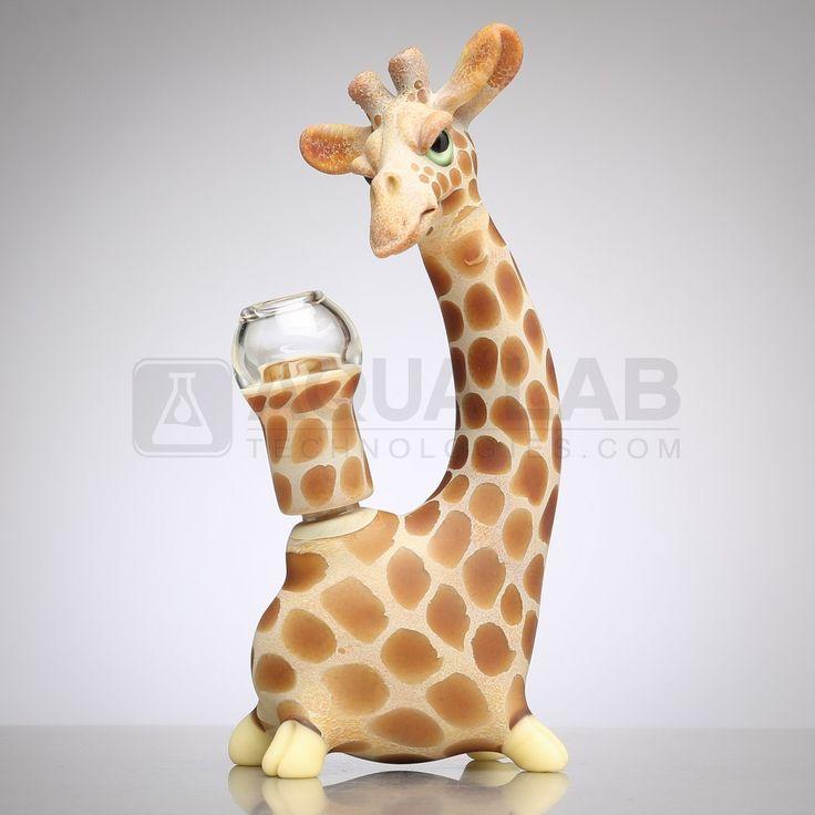 me glassworks by matt robertson baby giraffe vapor rig