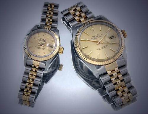 His and hers ROLEX WATCH, wedding present to my husband ...