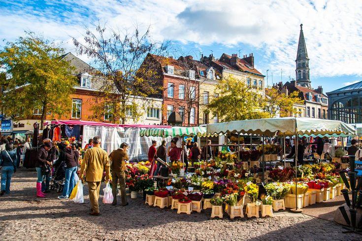 Le marché du Dimanche de Wazemme à Lille © Meiqianbao / Shutterstock.com