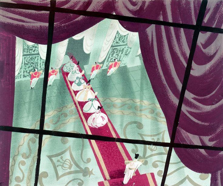 Mary Blair Cinderella Art