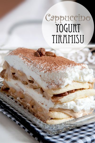 Tiramisu with Cappuccino Yogurt