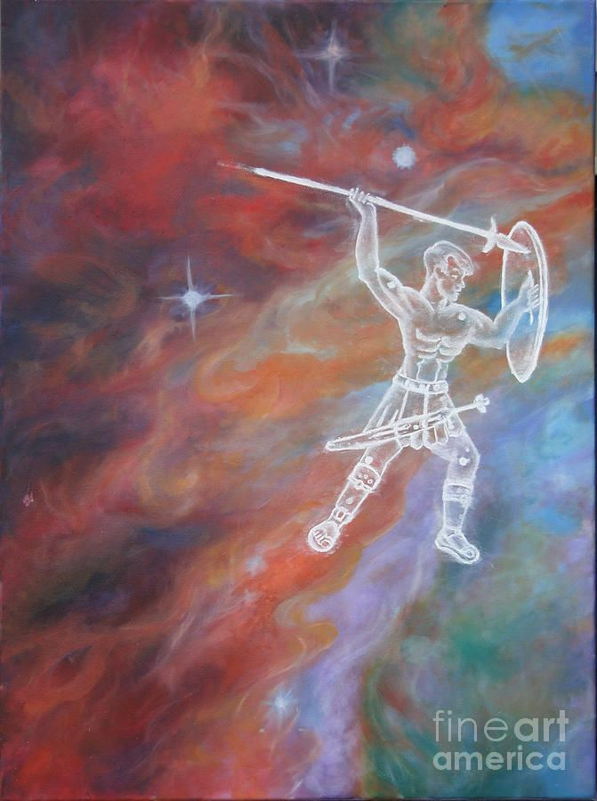 Beyond Orions Belt 01 Painting by Diana Hume