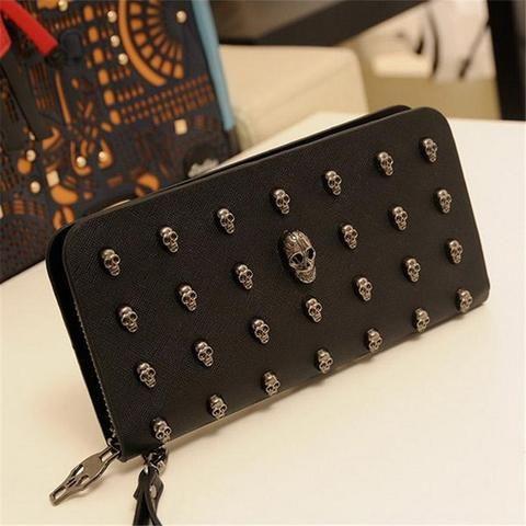 Pocketful of Skulls Wrist Wallet
