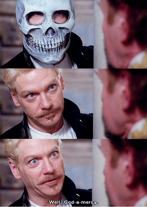 Kenneth Branagh, 1996, the film directed by himself.