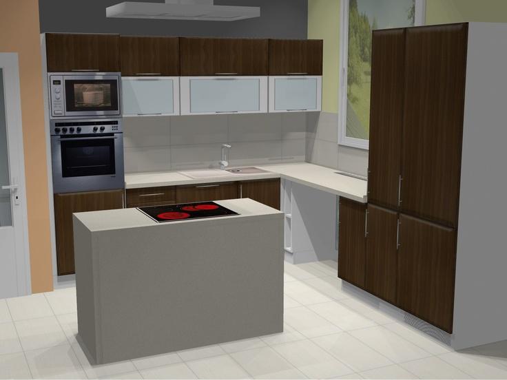 Kuchyne - muj uplne prvni navrh