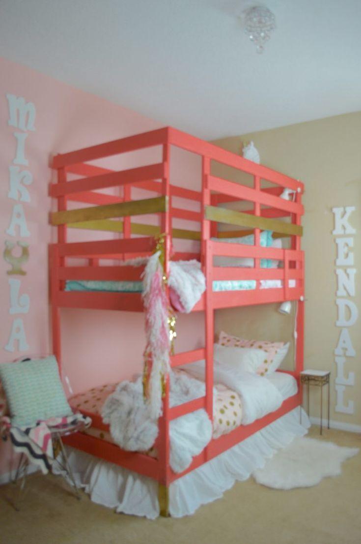 Erstellen Sie Ein Etagenbett Traume Sind Gemacht Aus Ikea Bunk Bed Ikea Bunk Bed Hack Bunk Beds