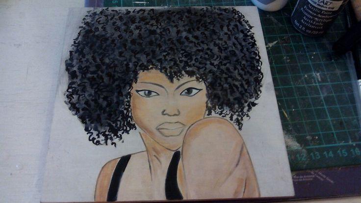 Hand painting Womem
