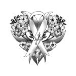 Brain Cancer Survivor Tattoo Custom