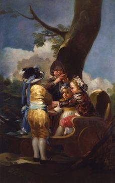 Los niños del carretón. museo de toledo, usa