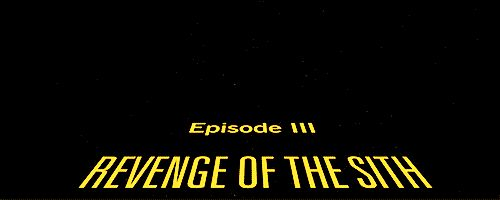 Star Wars: Episode III - Revenge of the Sith / Star Wars: Episode III - Die Rache der Sith - GIF