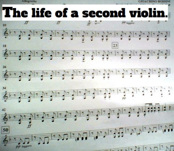 Seriously though. By the way the piece is William Tell Pas De Six No.5