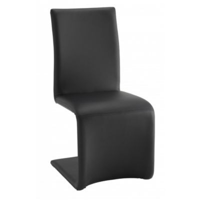 Produit : ESSE - Chaise Pu Noir Thème : Be Design Ajouté à la liste de audrey via 35ansFly.fr