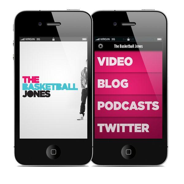 TBJ iPhone App by Brian Waddington, via Behance