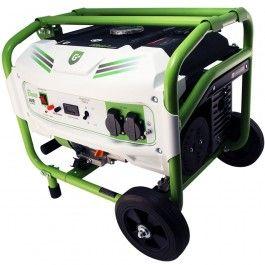 Generador eléctrico monofásico que convierte la energía mecánica en eléctrica mediante la combustión. Hay tres modelos diferentes disponibles.
