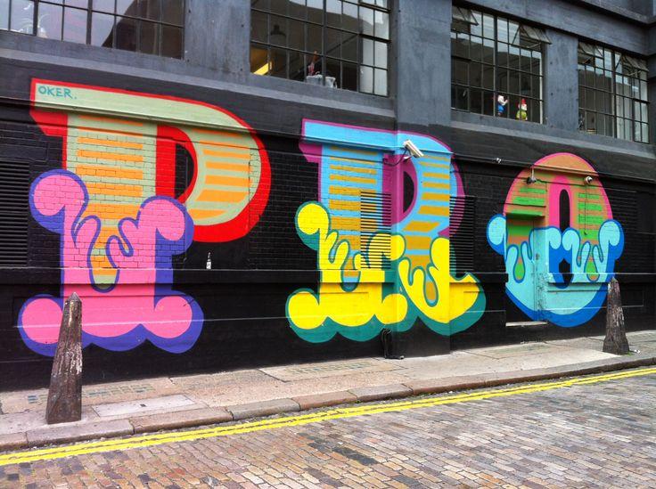 Ben Eine - Ebor Street, London (21 July 2013)