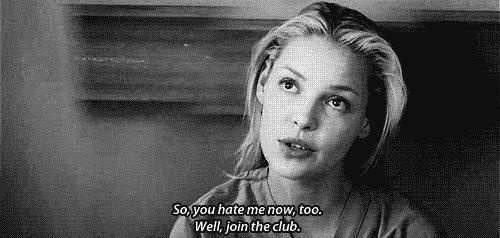 """So you hate me now, too. Well, join the club."" Izzie ..."