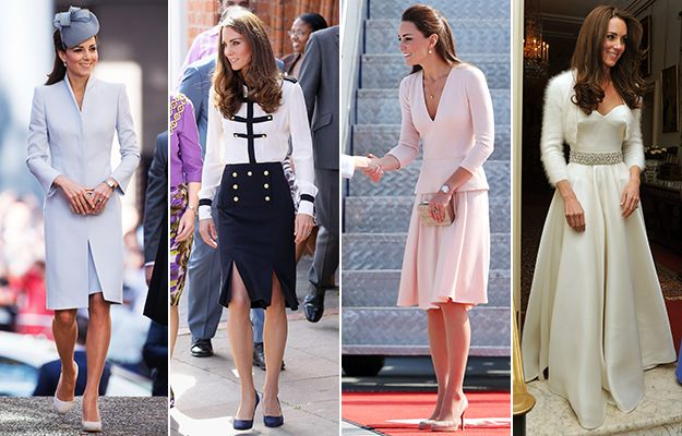 Duchess of Cambridge in Alexander McQueen