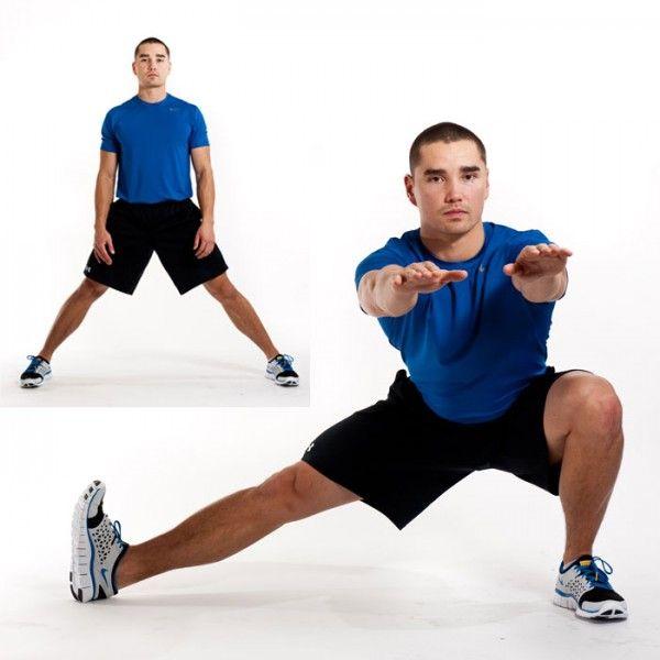 Inner-Thigh Exercises: Cossack Squat