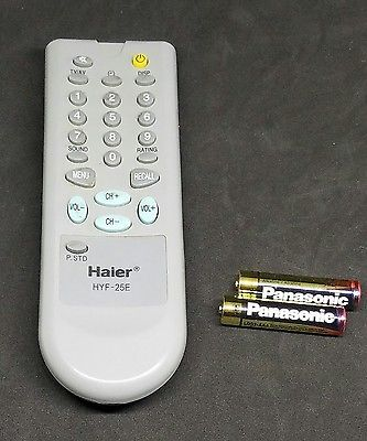 ORIGINAL Haier HYF25E TV Remote Control With Batteries & Warranty
