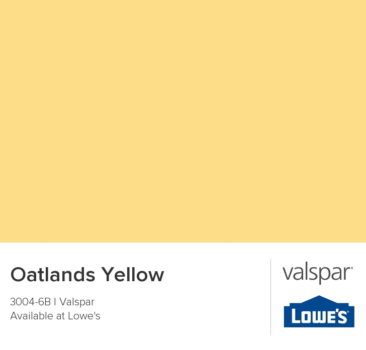 Oatlands Yellow From Valspar Paint Colors Pinterest