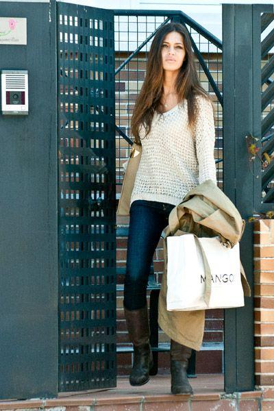I love myself.: street style de Sara Carbonero.-