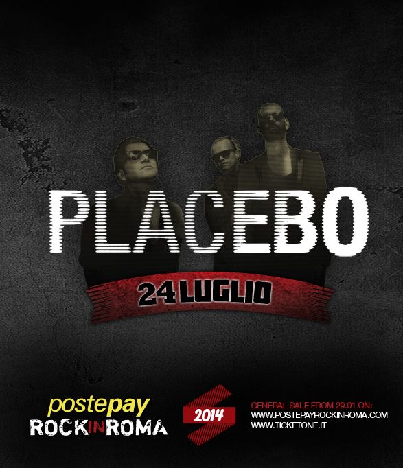 Placebo - 24 luglio 2014 Postepay Rock in Roma