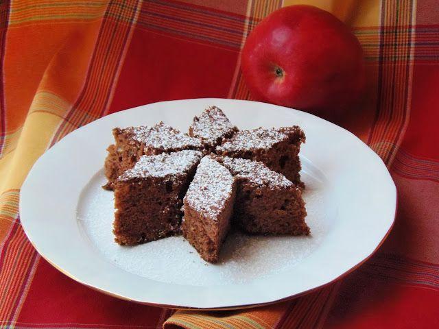 Almás kevert sütemény - almás, diós pikóta