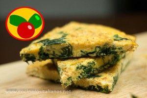 Aprende de la mano de nuestros amigos de COCINEROS ITALIANOS a preparar la tortilla más famosa de Italia: la frittata. ¡Con queso y espinacas!
