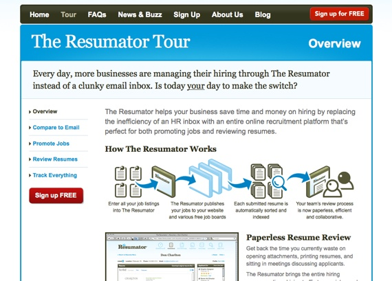 The Resumator Gorgeous The Resumator The Easiest Way To Add A Job - The Resumator