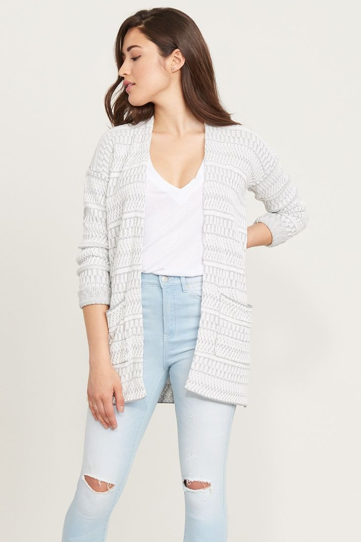 But does it have pockets? Knitted Cardigan with Pockets