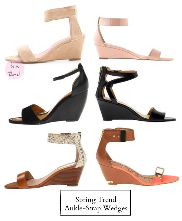 My Soul is the Sky: Ankle Strap Wedges