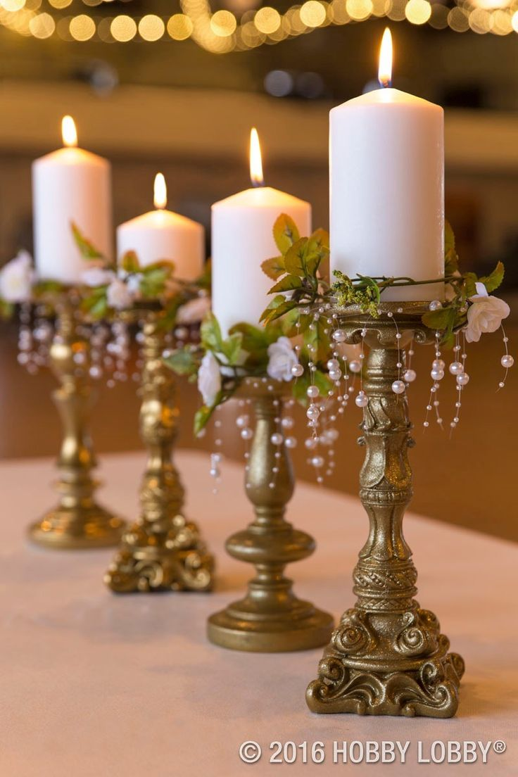 from hobby lobby diy elegant centerpieces to inspire your wedding reception decor