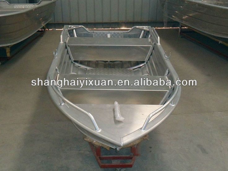 Excellent aluminum deep bottom boats