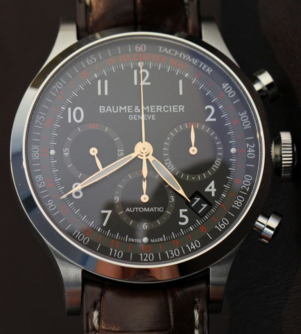 A stylish and an attractive looking watch...Swiss Watches and Luxury Watches - Baume et Mercier #luxury http://wiki.jorabek.com/wiki/User:Granvillehot|N/A/index.php?title=Knowing-What-Kind-Of-Jewelry-Works-For-You---Montre-à-Quartz