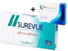 Surevue (6čoček) + nová čočka ZDARMA - Johnson and Johnson